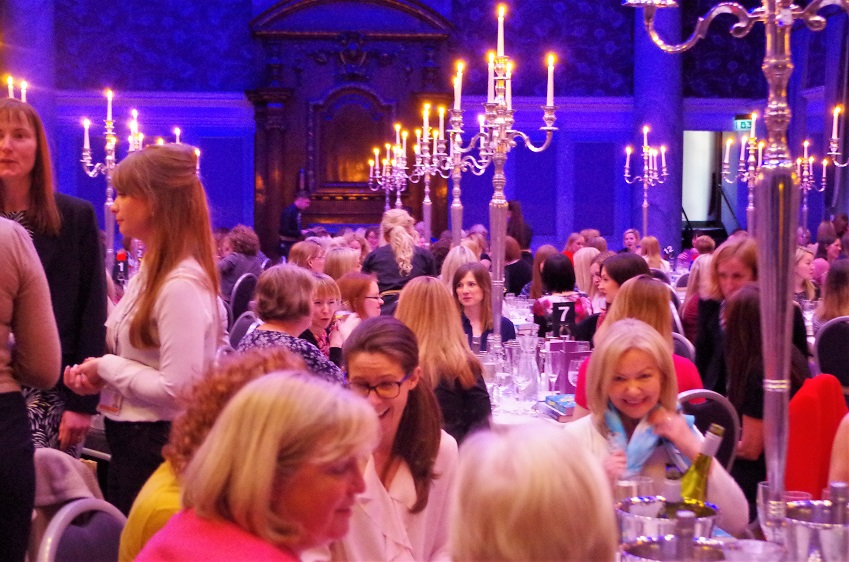 International Women's Day/World Book Day London Gliterary Lunch with Ruth Hogan & Charlotte Bingham