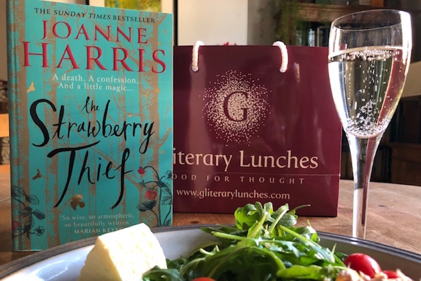 Virtual Gliterary Lunch with Joanne Harris
