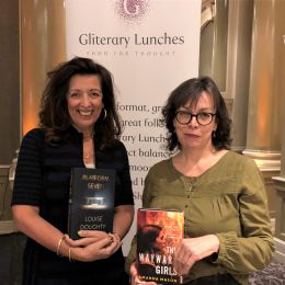 Leeds Gliterary Lunch with Louise Doughty & Amanda Mason