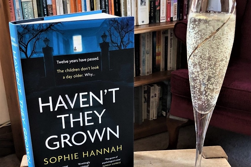 Virtual Gliterary Lunch with Sophie Hannah
