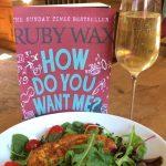 Virtual Gliterary Lunch with Ruby Wax