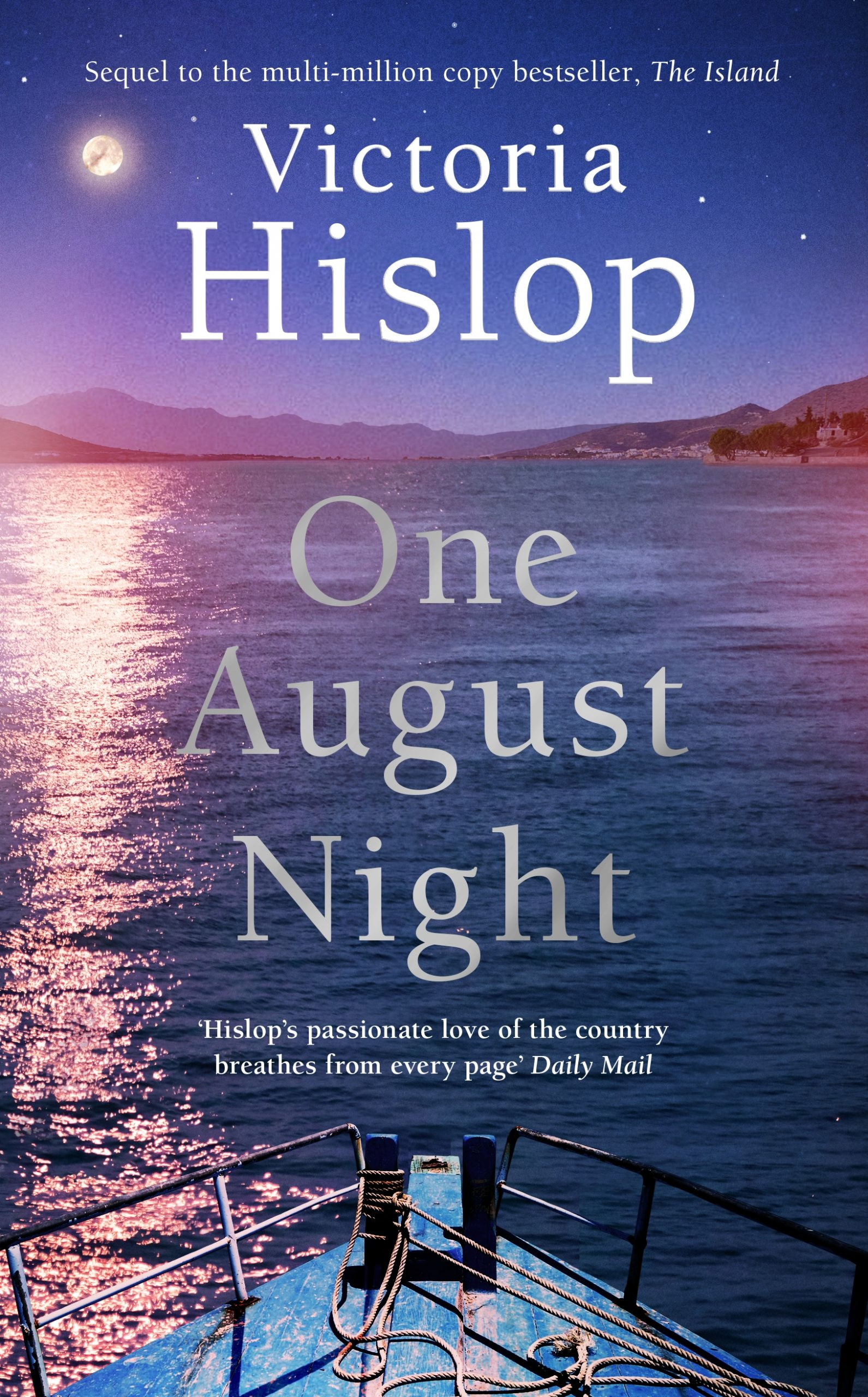 One Night in August by Victoria Hislop